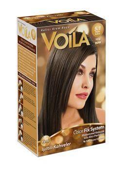 Voila Colorfix System Sac Boyasi 5 1 Buzlu Kahve 2020 Buzlu