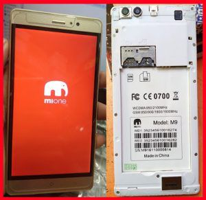 Mione M9 Flash File | Mione M9 Firmware MT6580 6 0 Hang Logo