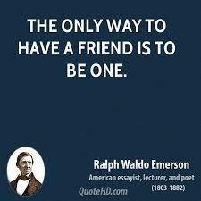 Afbeeldingsresultaat Voor Ralph Waldo Emerson Quotes Friendship