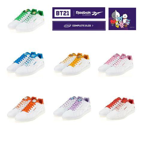 9 BTS BT21 shoes ideas | shoes, reebok