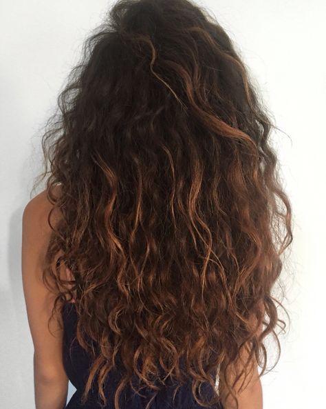 57 Ideas Hairstyles Curly Long Natural Long Wavy Hair Long