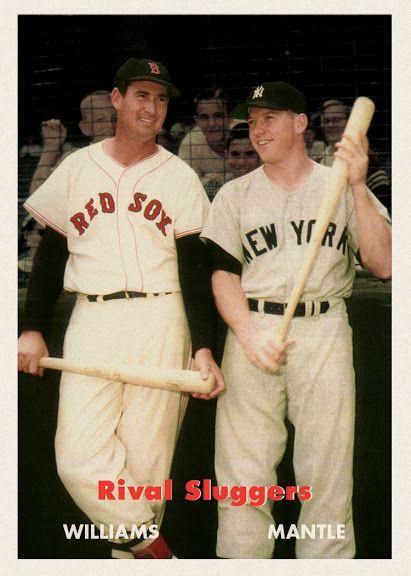 1957 Topps Rival Sluggers Baseball Cards Baseball History Cards