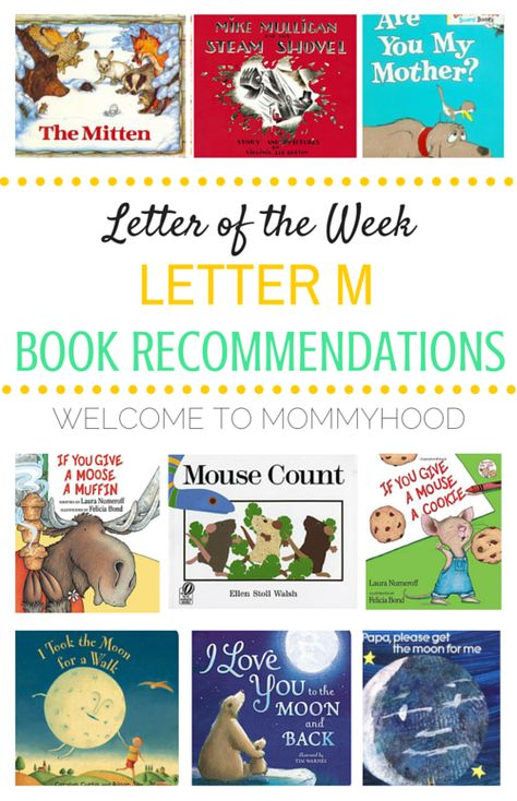 Tot Labs presents Letter of the Week Letter Mm book - letter of recommendations