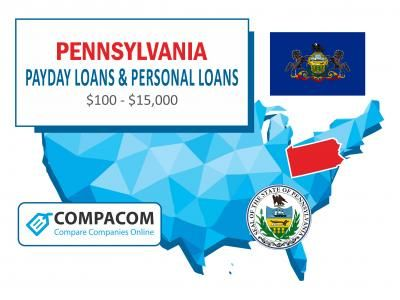 100 1 000 Payday Loans In Pennsylvania Available For Bad Credit Compacom Compare Companies Online Payday Loans Payday Bad Credit