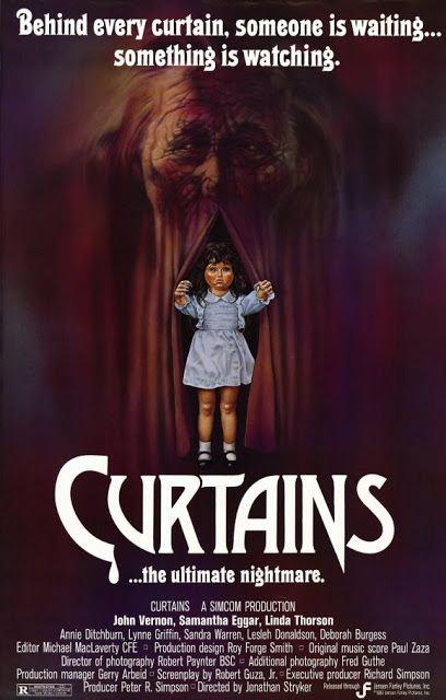 70 S 80 S Films Curtains 1983 B Movie John Vernon Horror Movies