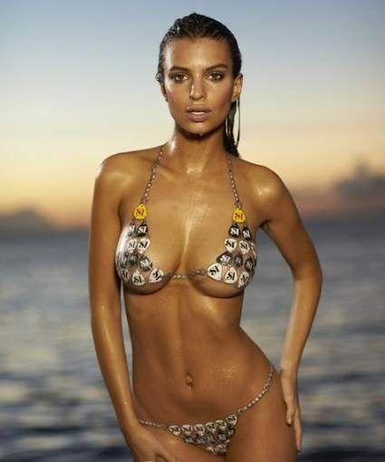 Body Paint Swimsuit Models
