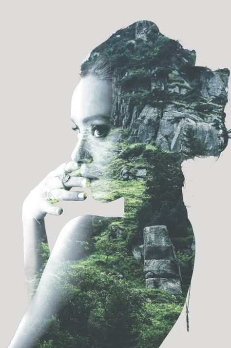 Photoshop Tutorial: Modern Double Exposure for Portraits — Journey With Jess | Inspiration for your Creative Side
