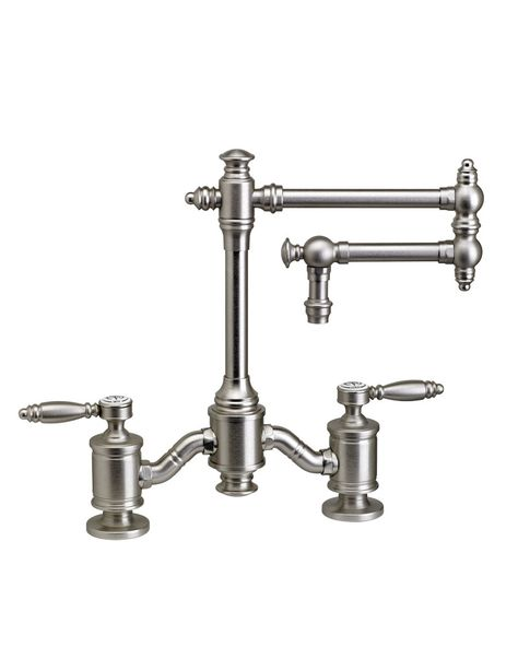 Towson 12 Bridge Faucet 6100 Waterstone Available At Snow And Jones Norwell Yarmouth Machusetts Showrooms