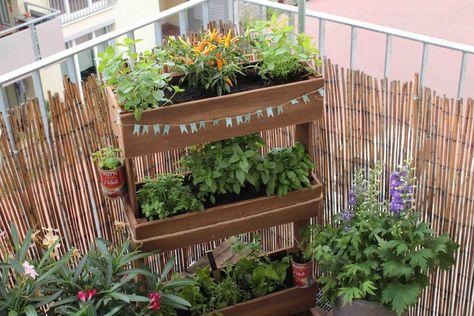 Hochbeet Diy Mal Anders Kleiner Balkon Garten Garten Pflanzgefasse
