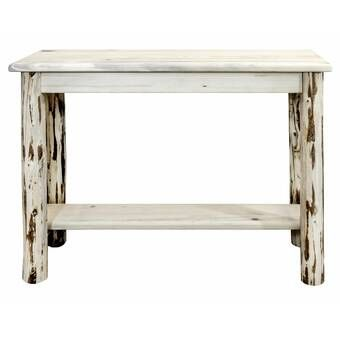Abella 42 Solid Wood Console Table In 2020 Wood Console Console Table Wood Console Table