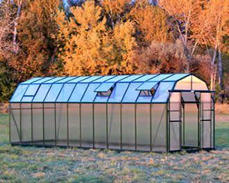 The Grandio Elite 8x24ft Diy Barnstyle Greenhouse Kit This