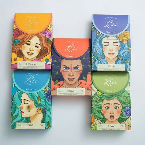 The Tea of Emotions on Packaging of the World - Creative Package Design Gallery