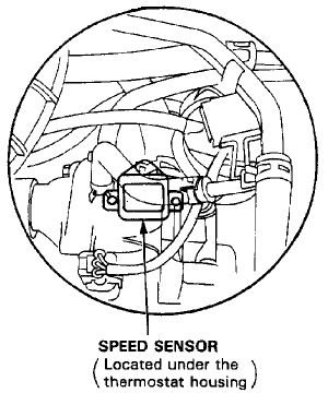 How to replace a vehicle speed sensor honda accord honda and how to replace a vehicle speed sensor honda accord honda and vehicle fandeluxe Images