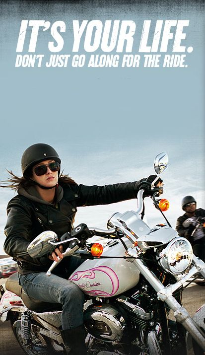 Get Out And Ride Biker Chicks Motor