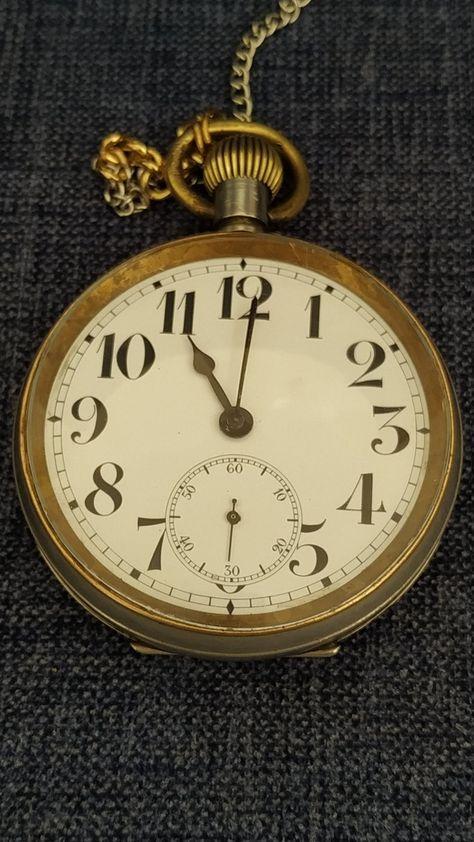 Antique doxa watch , mechanical watches , Antique Swiss Pocket Watch ,Doxa Open Face Pocket Watch , Collectible Swiss Pocket Watch