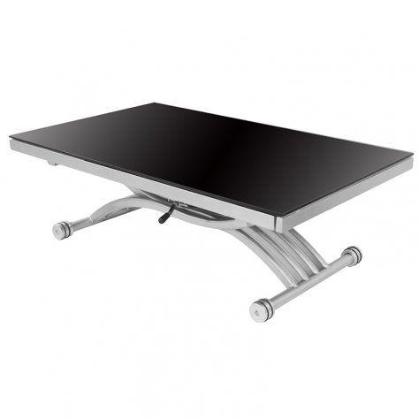 Rdm Concept Table Basse Relevable A Allonges Zen Verre Https Www Amazon Fr Dp B015jbfsw4 Ref Cm Sw R Pi Dp Table Basse Relevable Table Basse Verre Noir