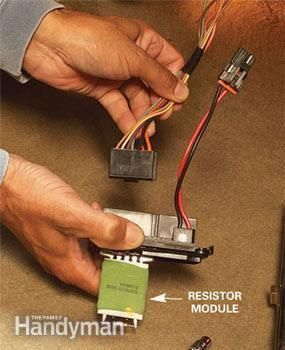 Car Heater Repair Tips Fixing A Blower Motor Resistor Module