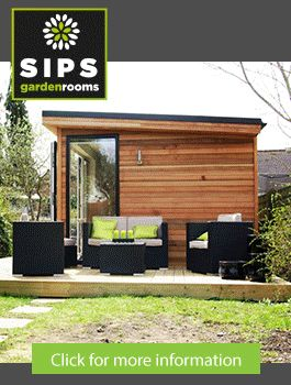 init studios garden office. Modern And Eco-friendly Garden Office - An Ideal Solution To Working From Home | DesignRulz Architecture Pinterest Gardens, Init Studios