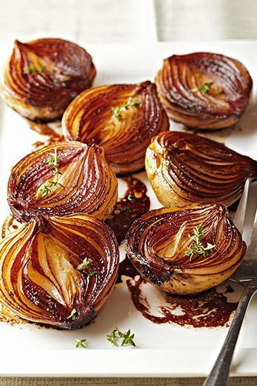 Caramelized Balsamic Onions Recipe Vegetable Recipes Healthy Recipes Balsamic Onions