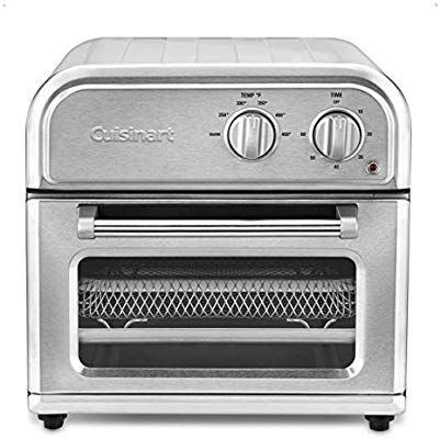 Amazon Com Cuisinart Afr 25 Air Fryer One Size Silver Kitchen Dining Toaster Oven