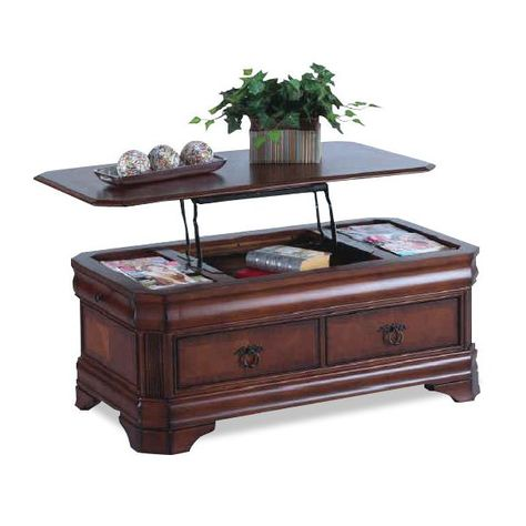 Cherry Lift Top Coffee Table Sheridan New Classic Furniture