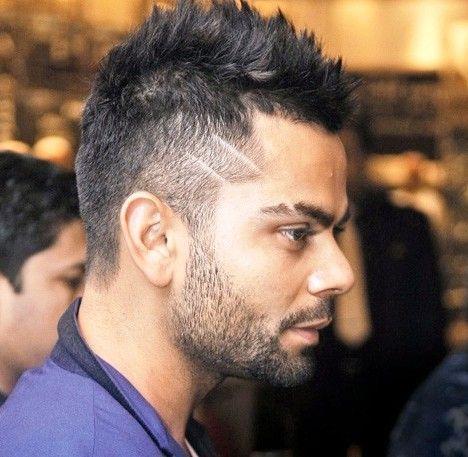 Virat Kohli Fade Hairstyle Virat Kohli Hairstyle Beard Styles Beard Styles Short