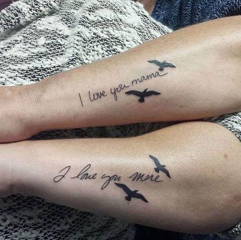 Und tochter mama tattoo Leni Klum: