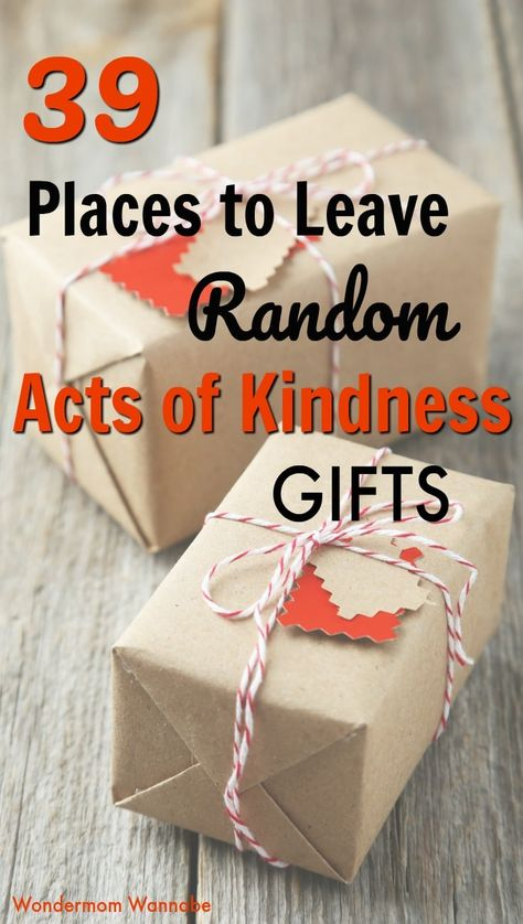 39 places where you can leave random acts of kindness gifts like friendly notes or spare change to brighten someone's day. Kindness Projects, Kindness Activities, Activities For Kids, Homeless Bags, Homeless Care Package, Kindness For Kids, Kindness Ideas, Acts Of Kindness, Kindness Notes