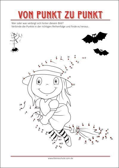 Ausmalbilder Halloween Von Punkt Zu Punkt Als Gratis Pdf Vorlagen Zum Ausdrucken Halloween Vorlagen Ausdrucken Malvorlagen Halloween Halloween Arbeitsblatter