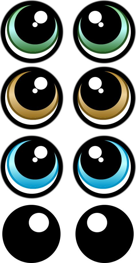 PRINT YOUR OWN Eye Stickers Template pack cartoon eye Pack print Stickers Template - fix. Clay Pot Crafts, Diy And Crafts, Crafts For Kids, Paper Crafts, Foam Crafts, Doll Eyes, Doll Face, Shopkins Characters, Eye Stickers