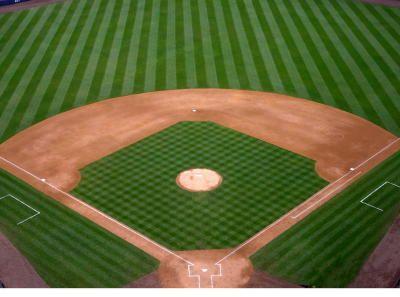 Baseball Diamond Rug Area Ideas