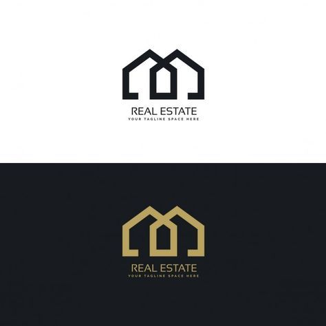 Download Gold And Black Logo With Geometric Shapes for free