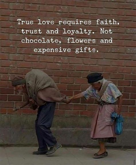 True love requires faith, trust and loyalty. Not chocolate, flowers and expensive gifts. #TrueLoveQuotes #LoveQuotes #AdorableQuotes #CuteQuotes #LoyaltyQuotes #therandomvibez