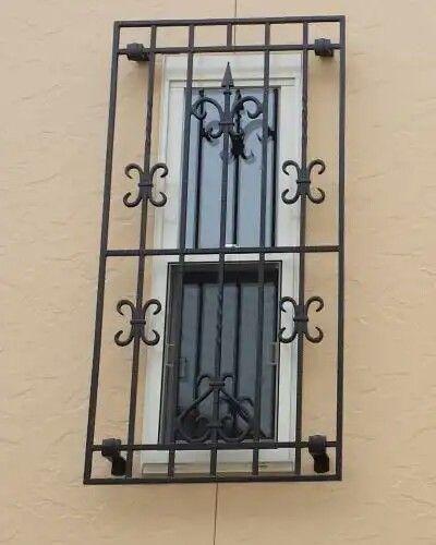 Pin By Yehia Akeel On Wrought Iron Metalwork Window Grill Design Steel Doors And Windows Iron Garden Gates