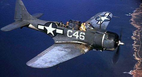 Douglas SBD-5 Dauntless dive bomber