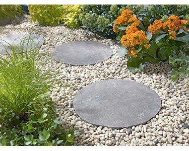 Naturstein Trittstein Graphit O 30 Cm Kaufen Bei Obi Trittsteine Natursteine Trittsteine Garten