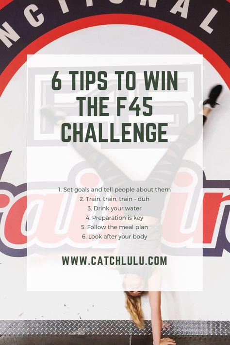 6 Tips To Win The F45 Challenge F45 Challenge Challenges F45 8 Week Challenge