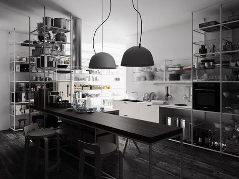 Schön CUCINA COMPONIBILE IN MULTISTRATO MECCANICA BY DEMODE | DESIGN GABRIELE  CENTAZZO | Interior S P A C E S | Pinterest | Fitted Kitchens, Kitchens And  Woods