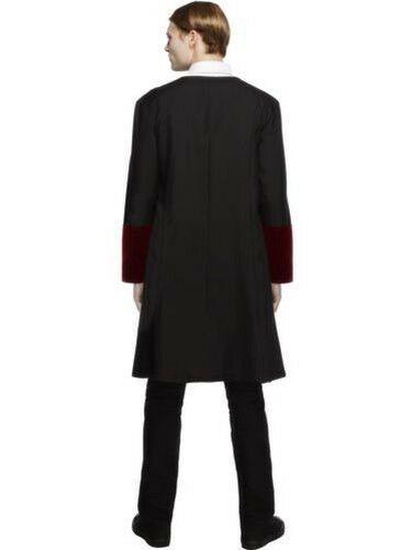 Mens Vampire Costume Adult Very Cool Vamp Outfit Halloween Dracula Fancy Dress