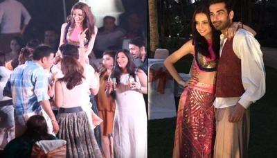 Beautiful Sanaya With Dashing Mohit Bollywood Fashion Perfect Couple Arnav And Khushi