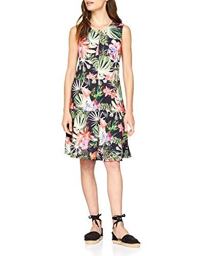 best website 89e2d 07e16 Betty Barclay Damen Kleid 6480/0719 Mehrfarbig (Dark Blue ...