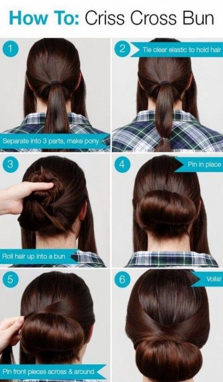 Hairstyles For Work Updo Hairdos 26 Ideas Hairstyles With Images Very Easy Hairstyles Easy Hairstyles Hair Tutorial