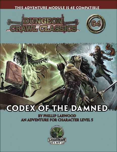 Dungeon Crawl Classics #64: Codex of the Damned