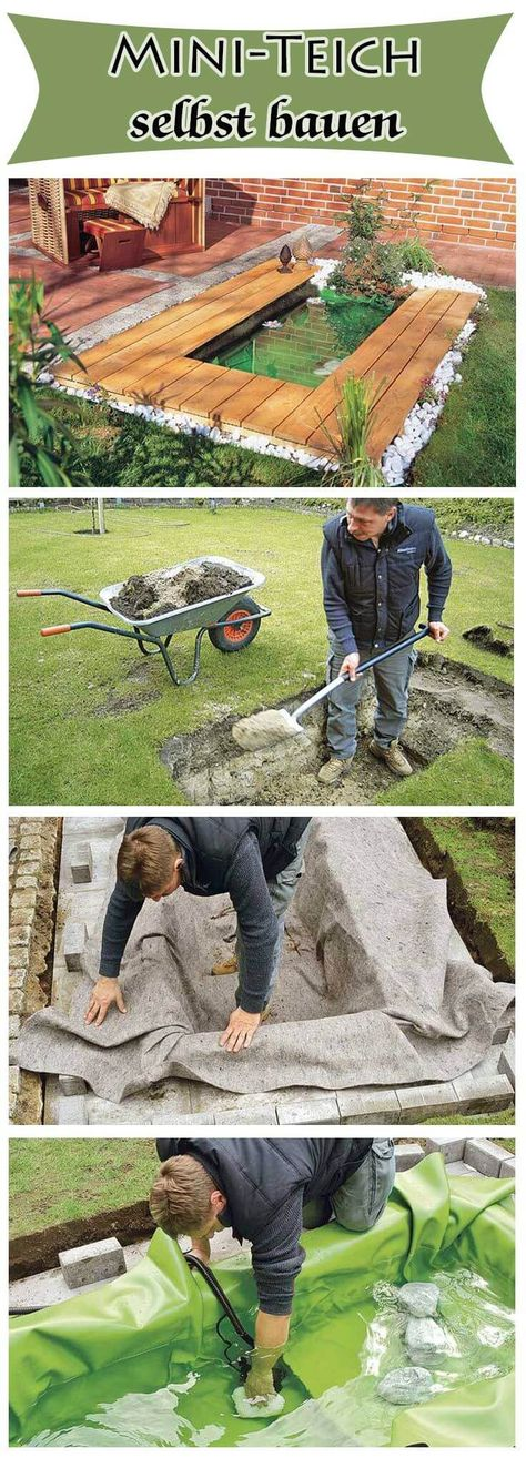 Quellstein, 3er Basalt Säulen, Wasserspiel, Gartenbrunnen, Wasser im