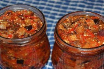 грузинская закуска на зиму из кабачков