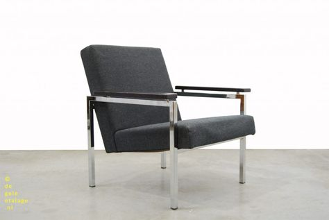 Vintage Design Fauteuil.Vintage Design Fauteuil Gijs Van Der Sluis Jaren 60 Dutch