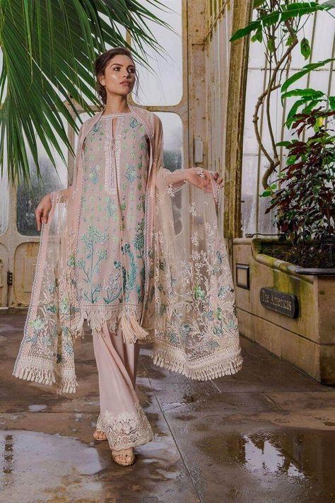 Sobia Nazir Luxury Lawn 2019 Pakistani Salwar Kameez 2A