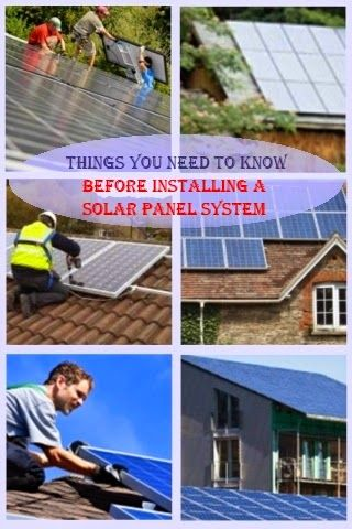 Things You Need to know Before Installing a Solar PV Panel System