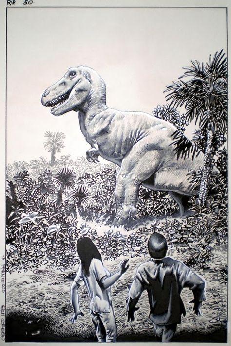 A Mesozoic Mosaic: My Spinosaurus vs. Carcharodontosaurus