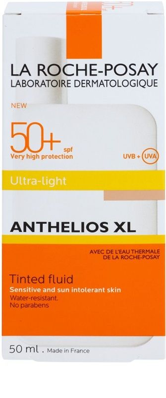 La Roche Posay Anthelios Xlfluid Nuantator Spf 50 Water Lighting